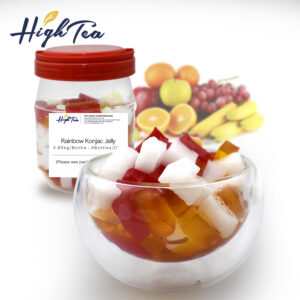 Konjac Coconut Jelly-Rainbow Konjac Jelly