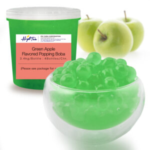 Popping Boba-Green Apple Fruit Flavored